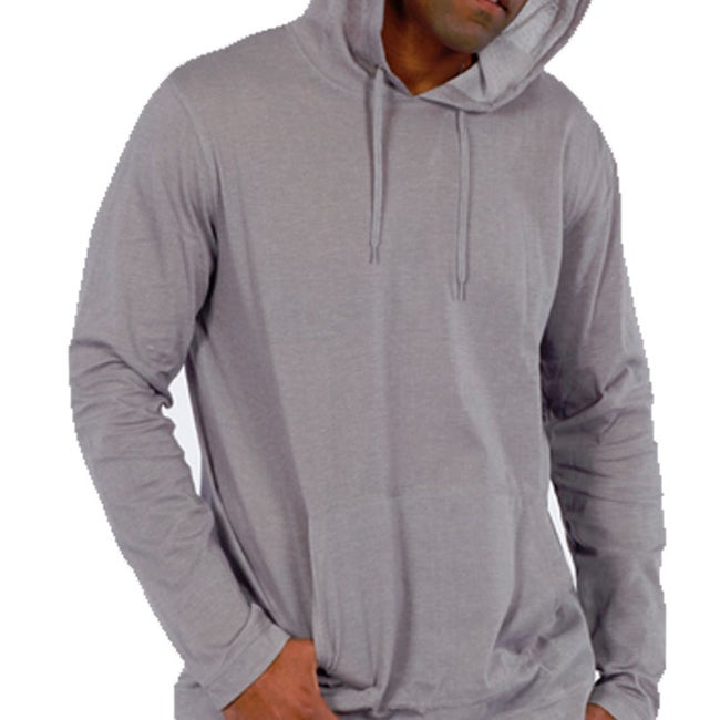 191 Unlimited Men's Grey Pullover Hoodie
