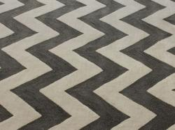 Handmade Luna Easy Care Chevron Rug (8'3 x 11')