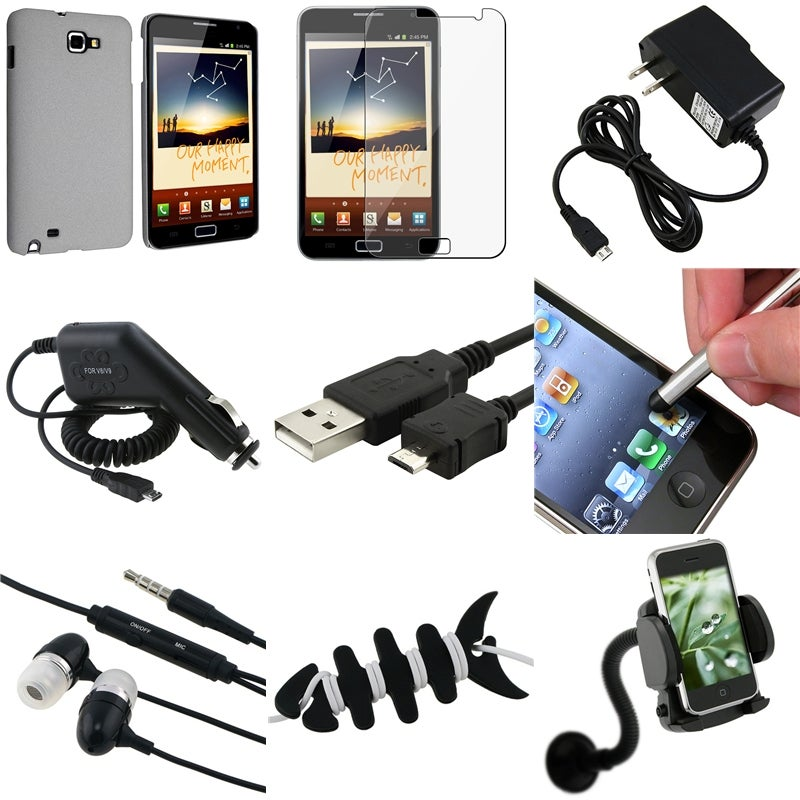Case/ LCD Protector/ Chargers/ Headset for Samsung Galaxy Note N7000