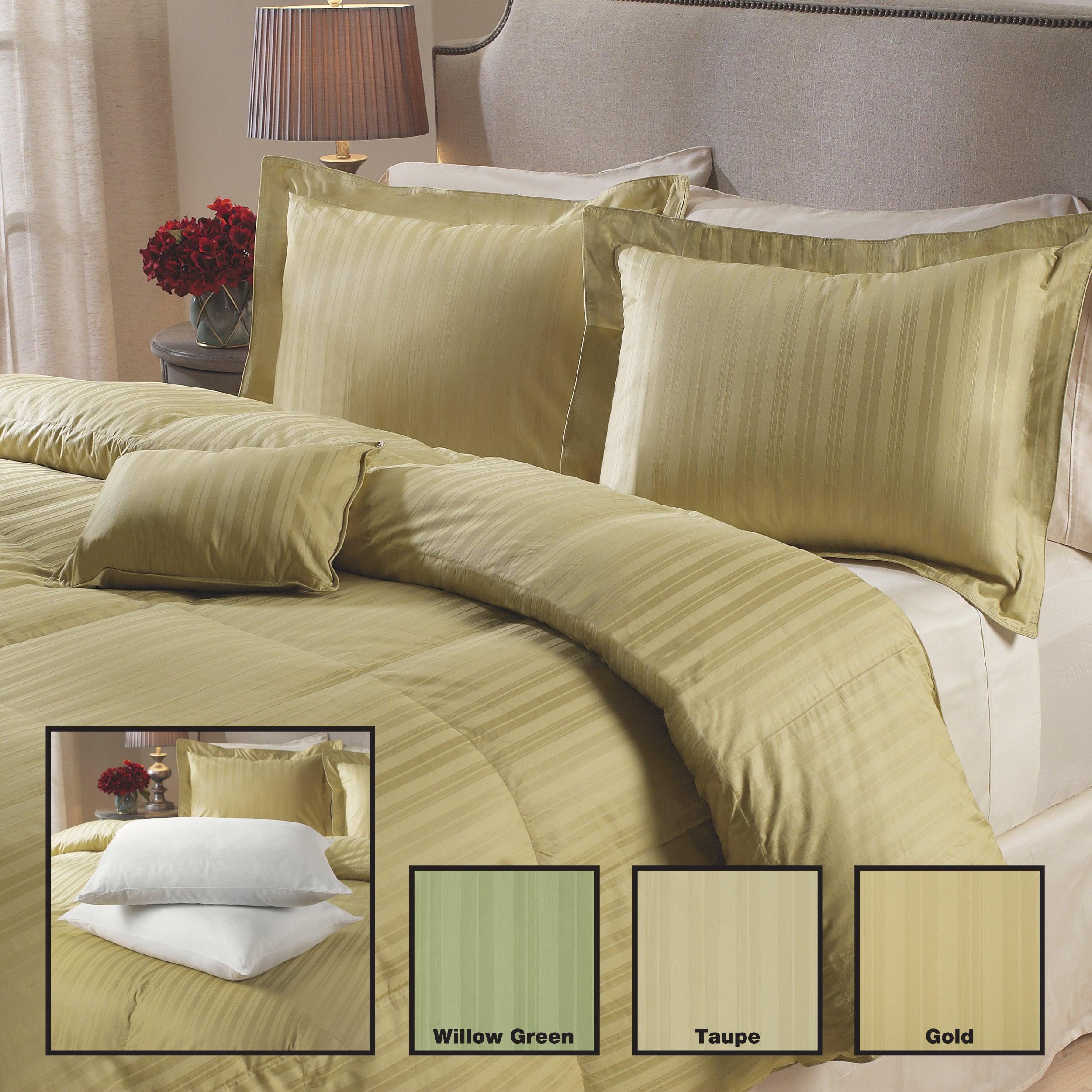 Luxurious 400 Thread Count White Down Comforter 6-piece Set
