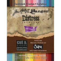 Core'dinations Distress Cardstock By Tim Holtz 72/Pkg-4.25