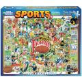 White Mountains Puzzles 1000-piece Football Puzzle