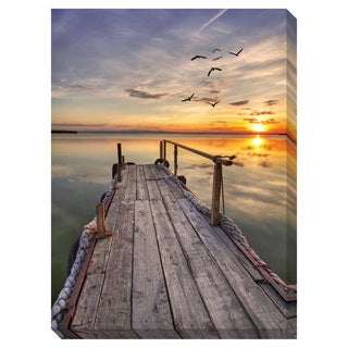 Close of Day Oversized Gallery Wrapped Canvas