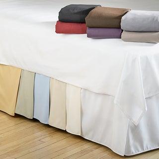 Microfiber Solid 15-inch Drop Bedskirt