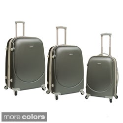 Traveler's Club Barnet Collection 3-piece Hardside Expandable Spinner Luggage Set