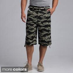 Raw Blue Men's Tiger Camo Cotton Short