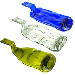 Recycled Glass Bottle Tray (Chile)
