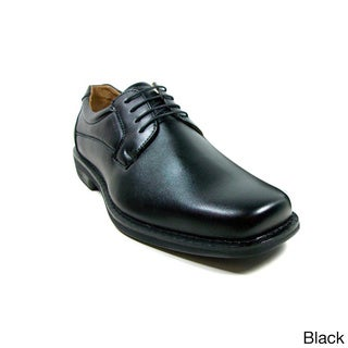 Ferro Aldo Men's Leatherette Square Toe Oxford Dress Shoes