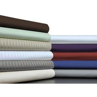 Brielle Home 100-percent Egyptian Cotton Sateen 630 Thread Count Sheet Set