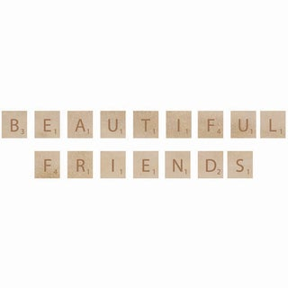 Wooden Letter Words-Beautiful