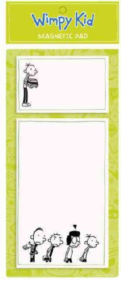Diary of a Wimpy Kid Lime Magnetic Pad (Notebook / blank book)