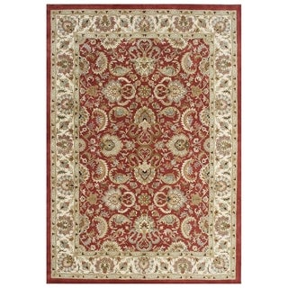 Alliyah Hand-made Soft Red Persian New Zealand Wool Rug (9&#39; x 12&#39;)