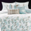 Madison Park Amber Cotton 6-piece Duvet Cover Set