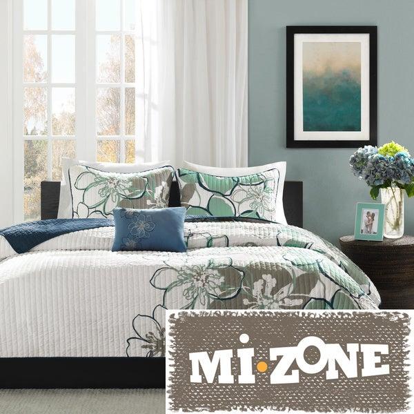 Mi Zone Skylar 4-piece Quilt Set