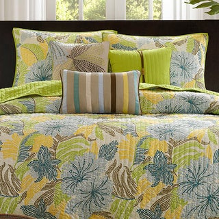 Madison Park Fiji 6-piece Coverlet Set
