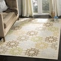 Martha Stewart Quilt Cream Cotton Rug (2'6 x 4'3)