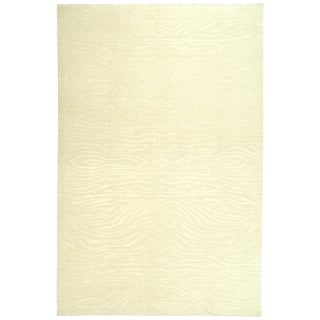 Martha Stewart Journey Cloud Silk/ Wool Rug (5'6 x 8'6)
