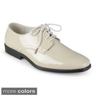 Oxford & Finch Men's Lace-up Tuxedo Shoes