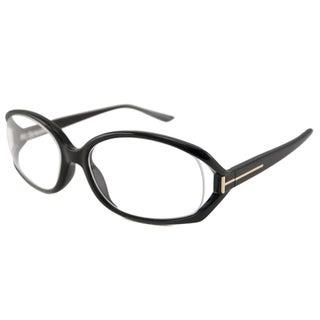 Tom Ford Readers Women's TF5186 Black Oval Reading Glasses