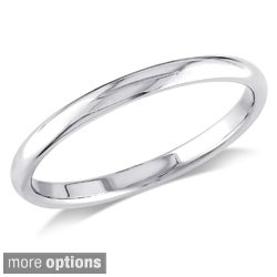 Miadora 10k Gold Women's Highly Polished Wedding Band