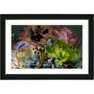 Studio Works Modern 'Scented Bloom - Peach' Framed Print