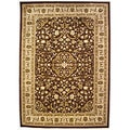Ephesus Brown Area Rug (7'11 x 7'11)