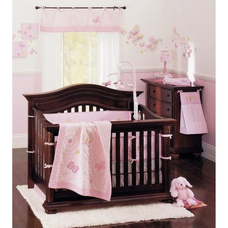 Crown Crafts Olivia 9-piece Crib Bedding Set
