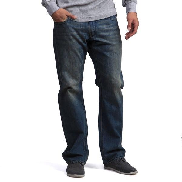 BROKEN ENGLISH Men's Denim Jeans