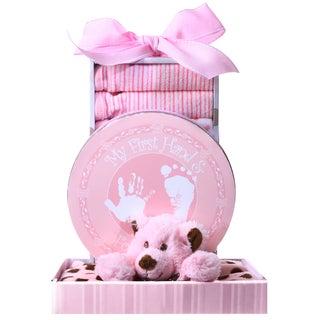 Alder Creek Gift Baskets 'Beary Cuddly Pink' Gift Box
