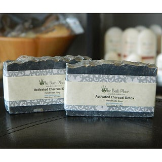 The Bath Place Bamboo Charcoal Handcrafted Soap