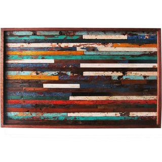 Ecologica Reclaimed Wood Art Panel