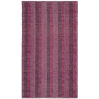 Thom Filicia Hand-woven Indoor/ Outdoor Indian Red Plastic Rug (3' x 5')