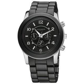 Akribos XXIV Women's Quartz Multifunction Stainless Steel Fashion Bracelet Watch