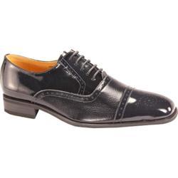 Men's Giorgio Venturi 5925 Navy Polished Leather