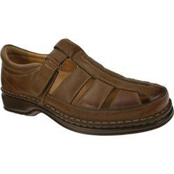 Men's Spring Step Rylan Medium Brown Leather