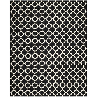 Safavieh Handmade Moroccan Cambridge Black Wool Rug (9' x 12')