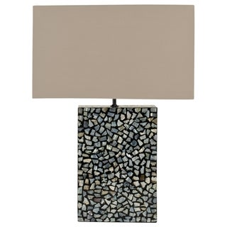 Safavieh Athena Blue Mother Of Pearl Table Lamp