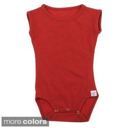 Andee Lew Girl's Cap Sleeve Bodysuit