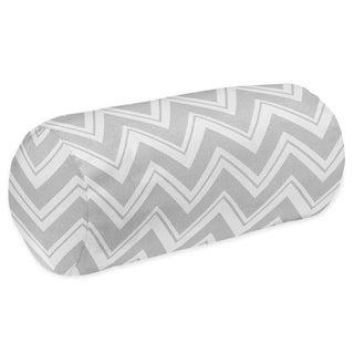Sweet Jojo Designs Grey Chevron Zigzag Neckroll Bolster Pillow