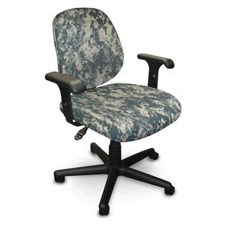 Allegra ACU Digital Camo Adjustable Task Chair with Adjustable Arms