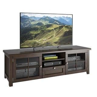 Sonax Arbutus Dark Espresso Stained Wood Veneer 63-inch TV Bench