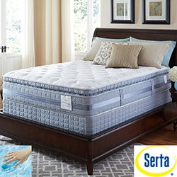 Serta Perfect Sleeper Elite Pleasant Night Super Pillowtop Twin XL-size Mattress Set