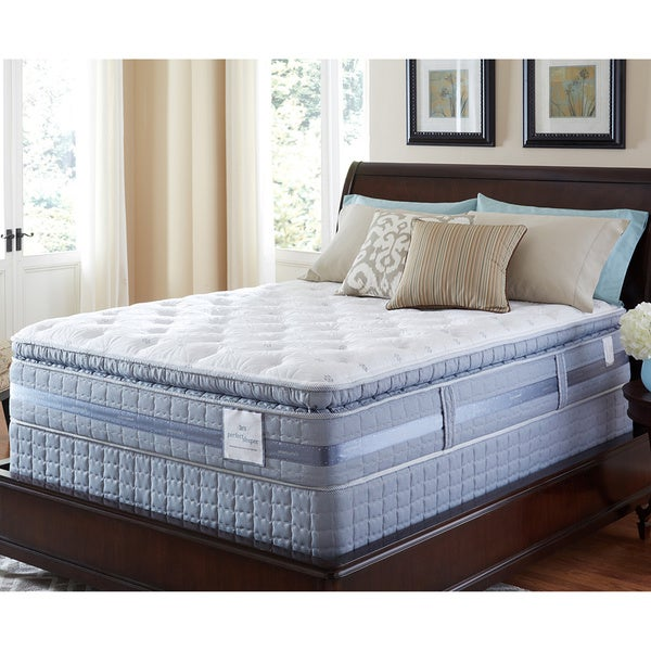 Serta Perfect Sleeper Elite Pleasant Night Super Pillowtop Queen-size Mattress Set