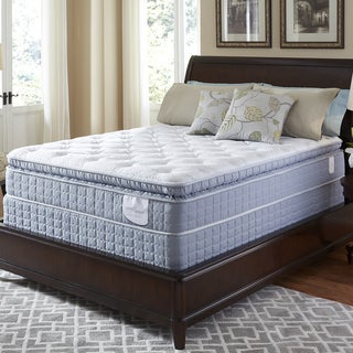 Serta Perfect Sleeper Luminous Super Pillowtop Full-size Mattress Set