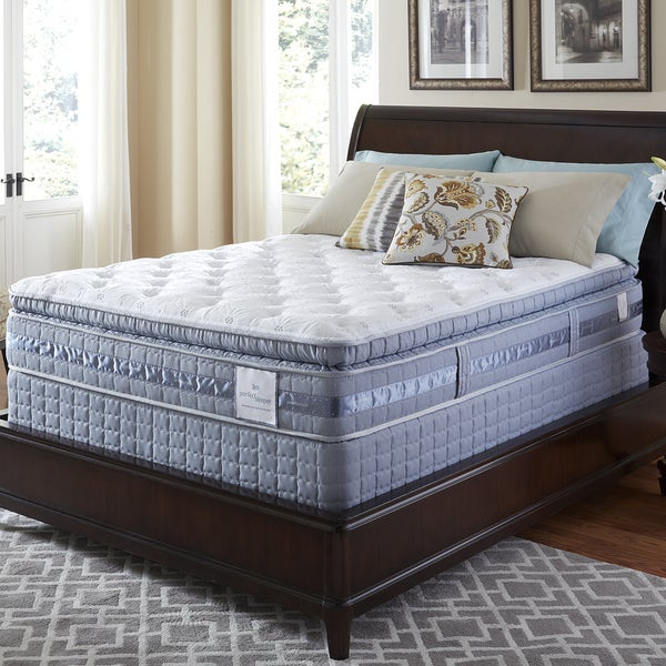 Serta Perfect Sleeper Resolution Super Pillowtop Split Queen-size Mattress Set