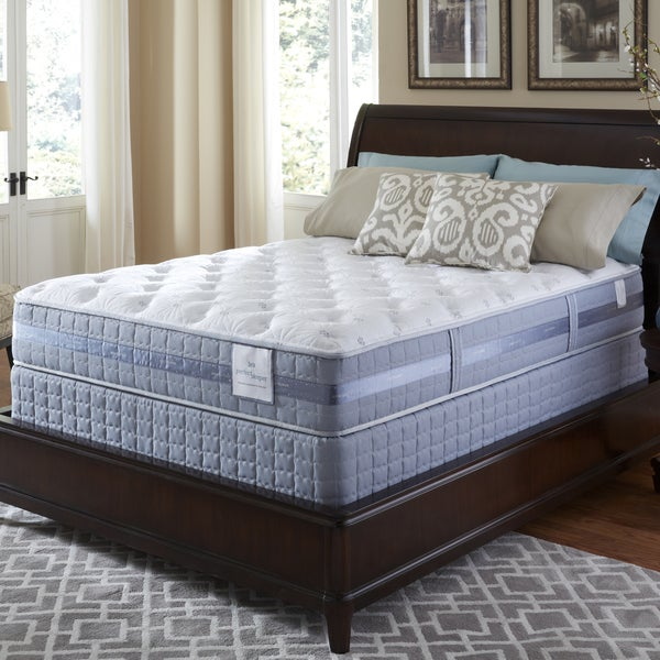 Serta Perfect Sleeper Resolution Plush Queen-size Mattress and Foundation Set