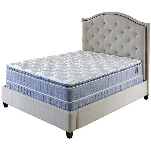 Serta Revival Pillowtop Split Queen-size Mattress and Foundation Set