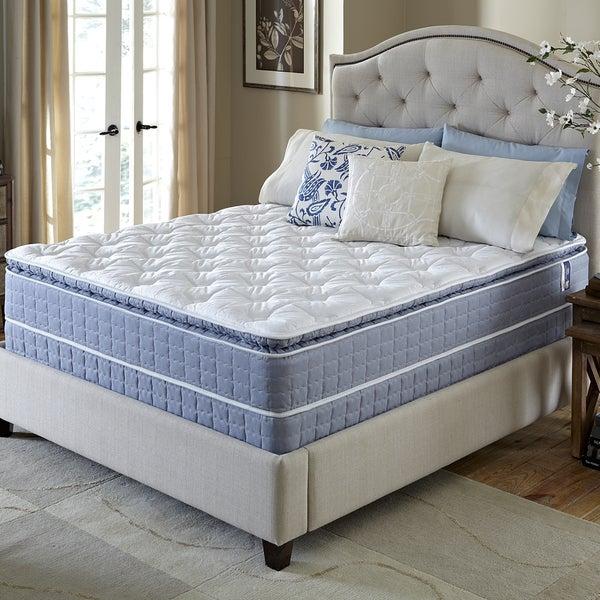 Serta Revival Pillowtop Full-size Mattress and Foundation Set