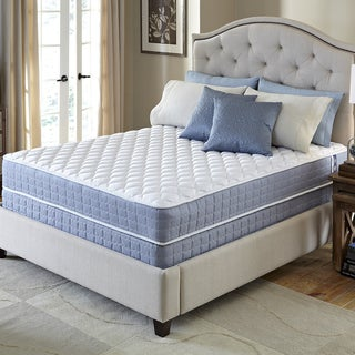Serta Revival Plush Queen-size Mattress and Foundation Set