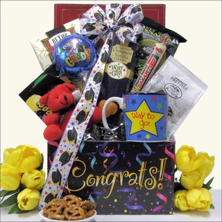 Way To Go: Graduation Gift Basket